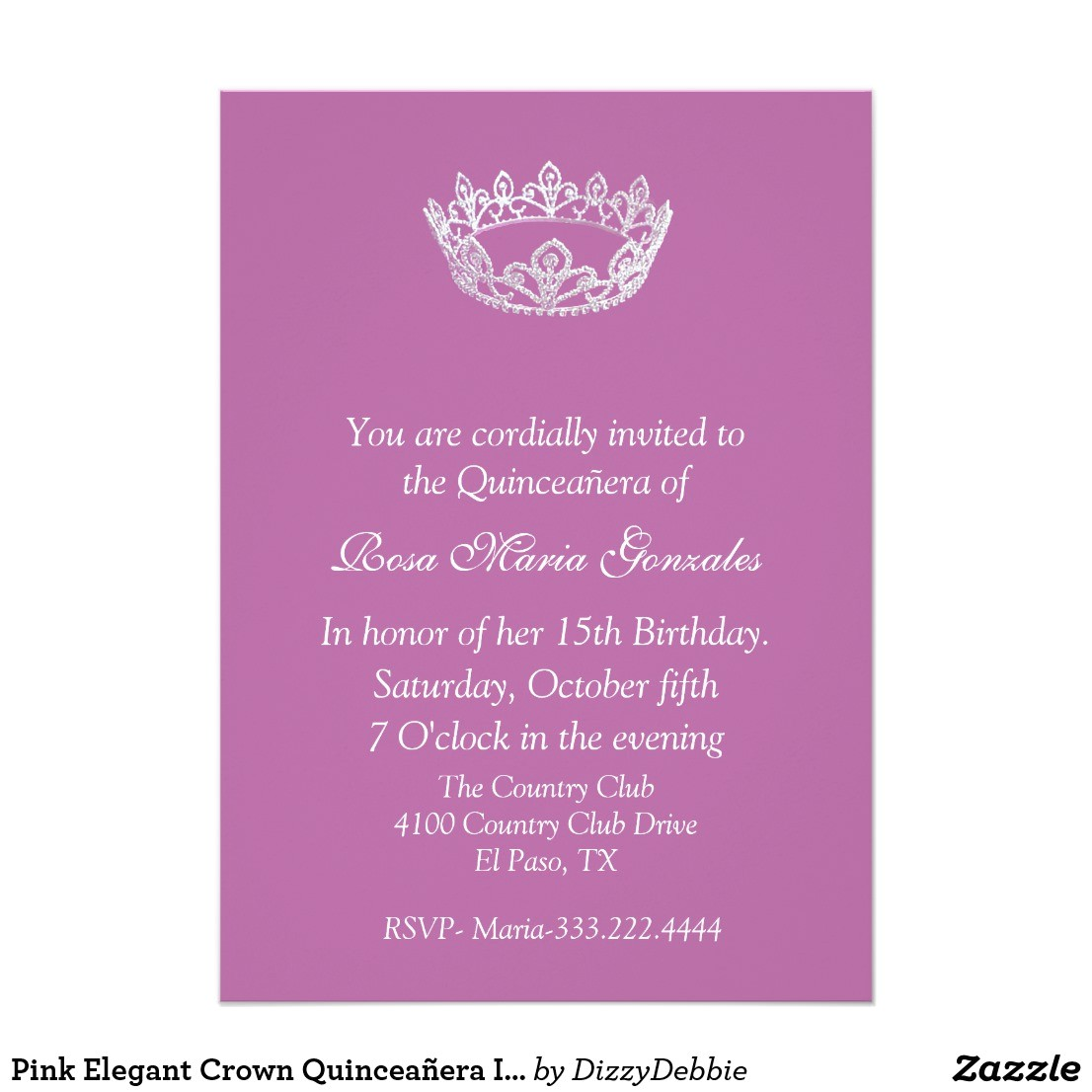 quinceanera program wording examples