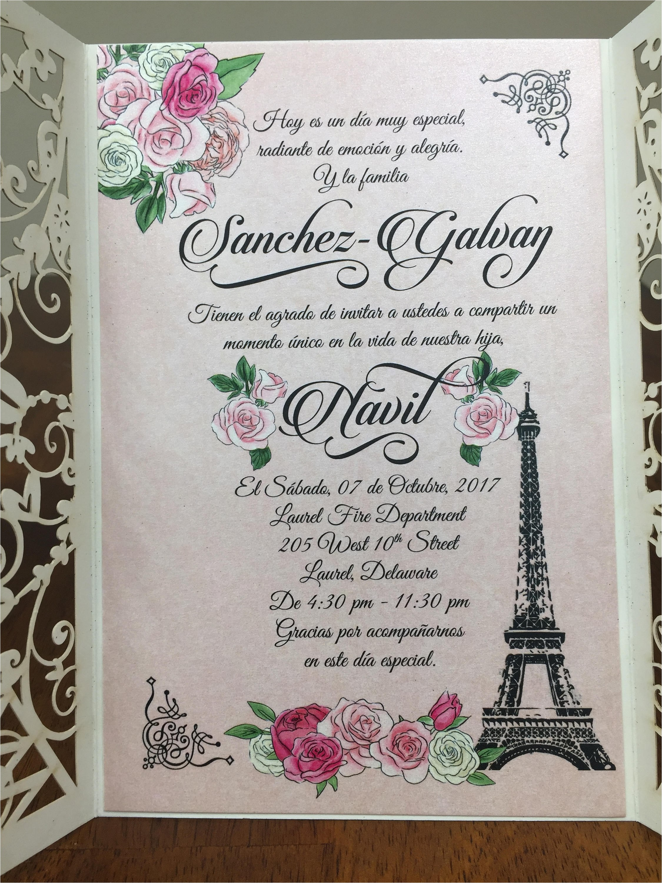 quinceanera poems for invitations