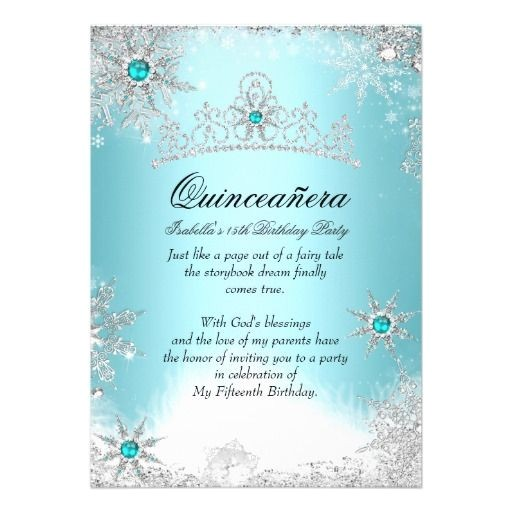quinceanera birthday party invitations