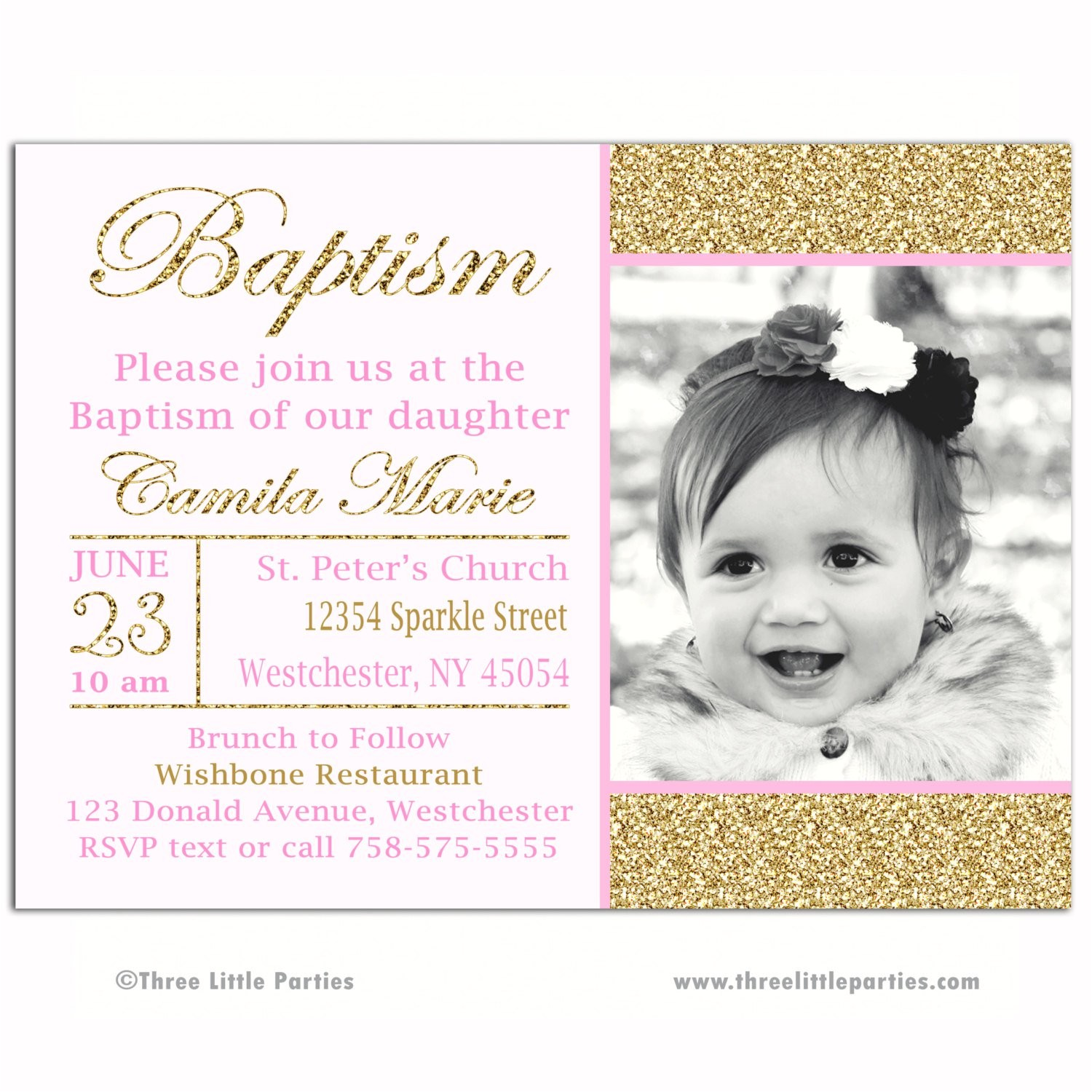 quotes for baptism invitations in spanish