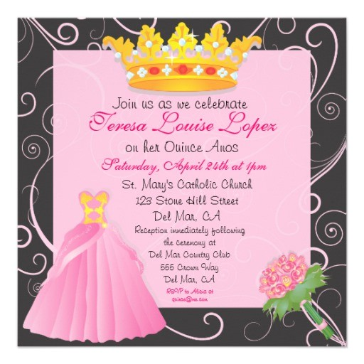 www zazzle ca 5ela quinceanera party invitation161645353389096564