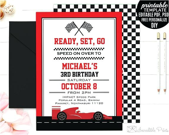 editable birthday invitations templates free race car boy birthday invitation template boy birthday party invitation go kart racing editable download speed birthday invitation editable birthday invita