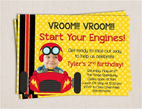 adorable racer race car themed birthday