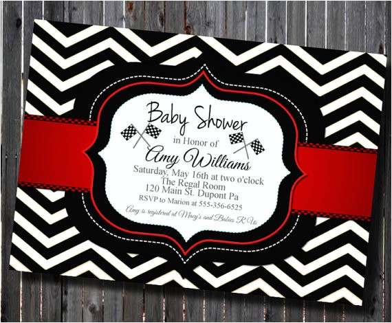 diy printable chevron black white red