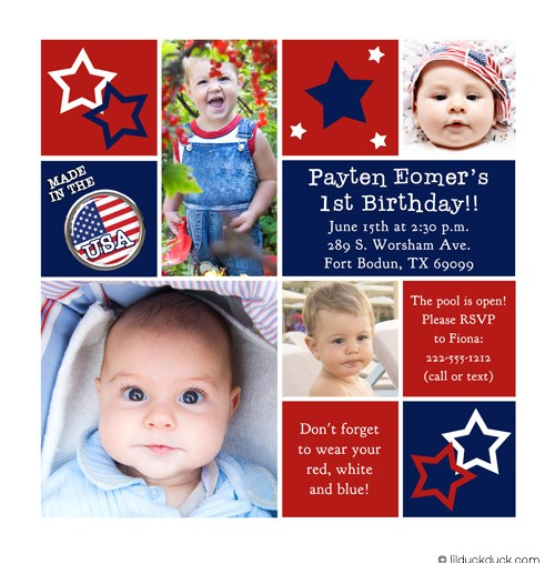 starry twin birthday invitations
