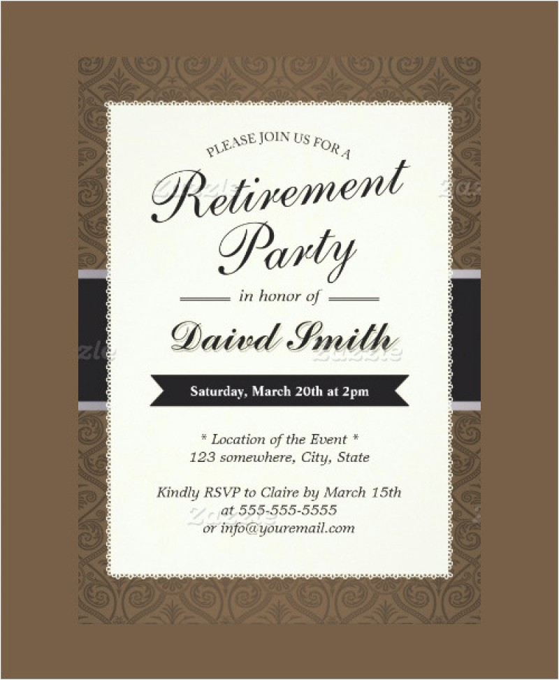 retirement invitation sample orderecigsjuice retirement invitations samples