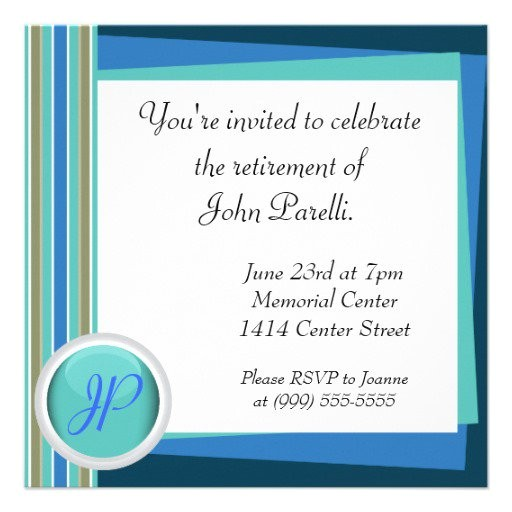 retirement invitations wording ideas