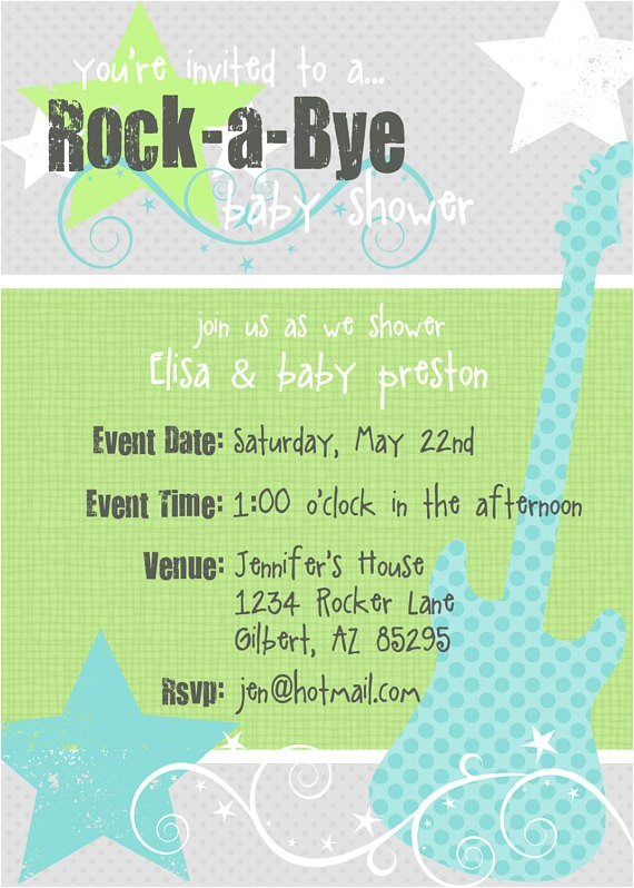 rock a bye baby printable baby shower