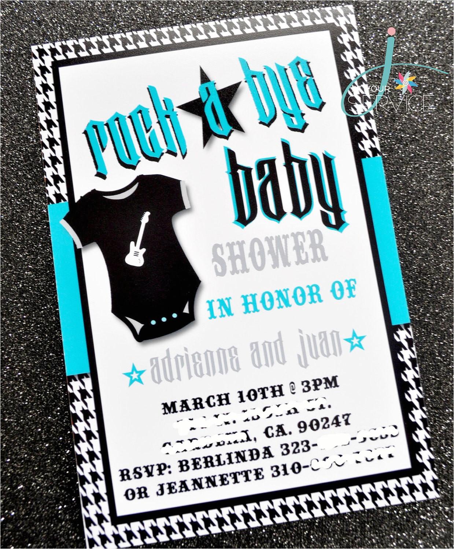 rock a bye baby invitation printable