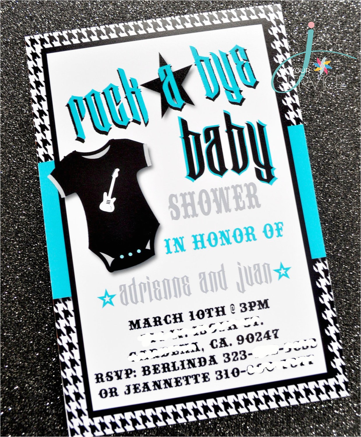 rock a bye baby invitation printable