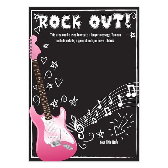 rock 20star 20birthday 20party 20invitation 20templates