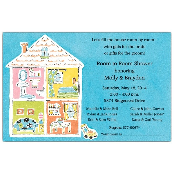Your Room Is Wedding Shower Invitations p 612 85 ITB