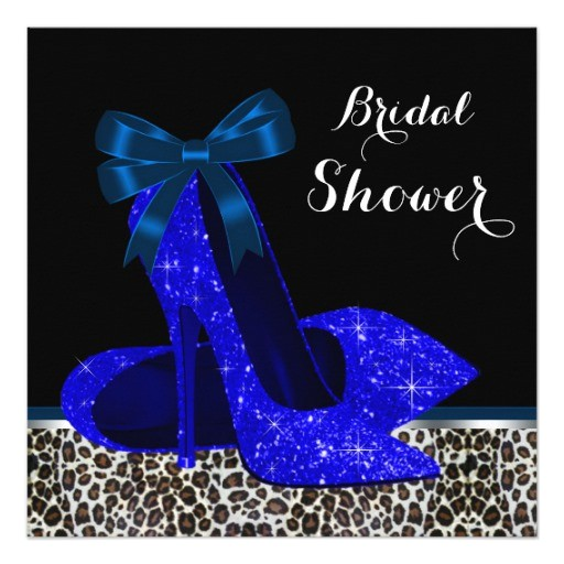 royal blue bridal shower invitation 161518918840720035