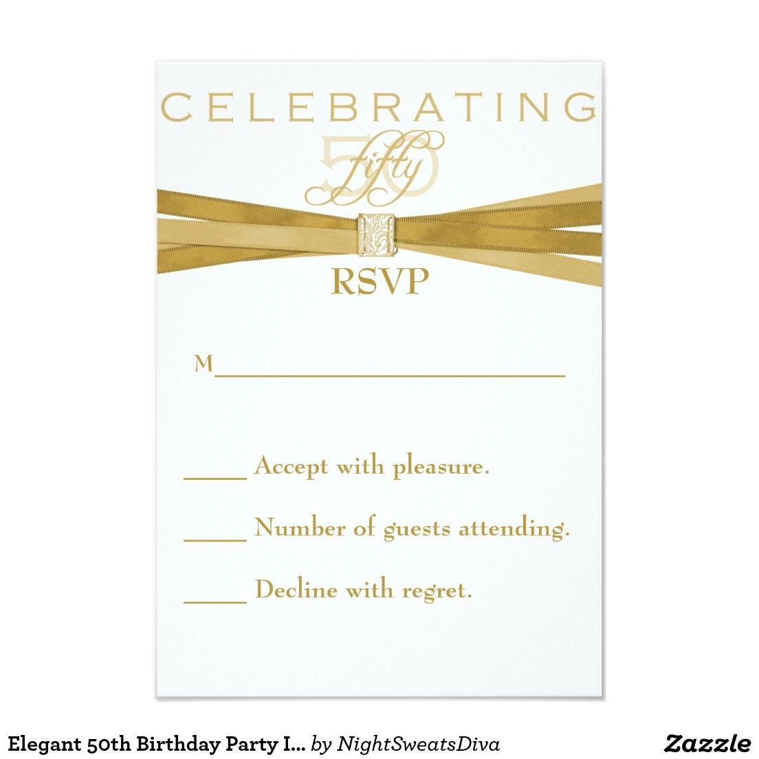 rsvp invitation card sample