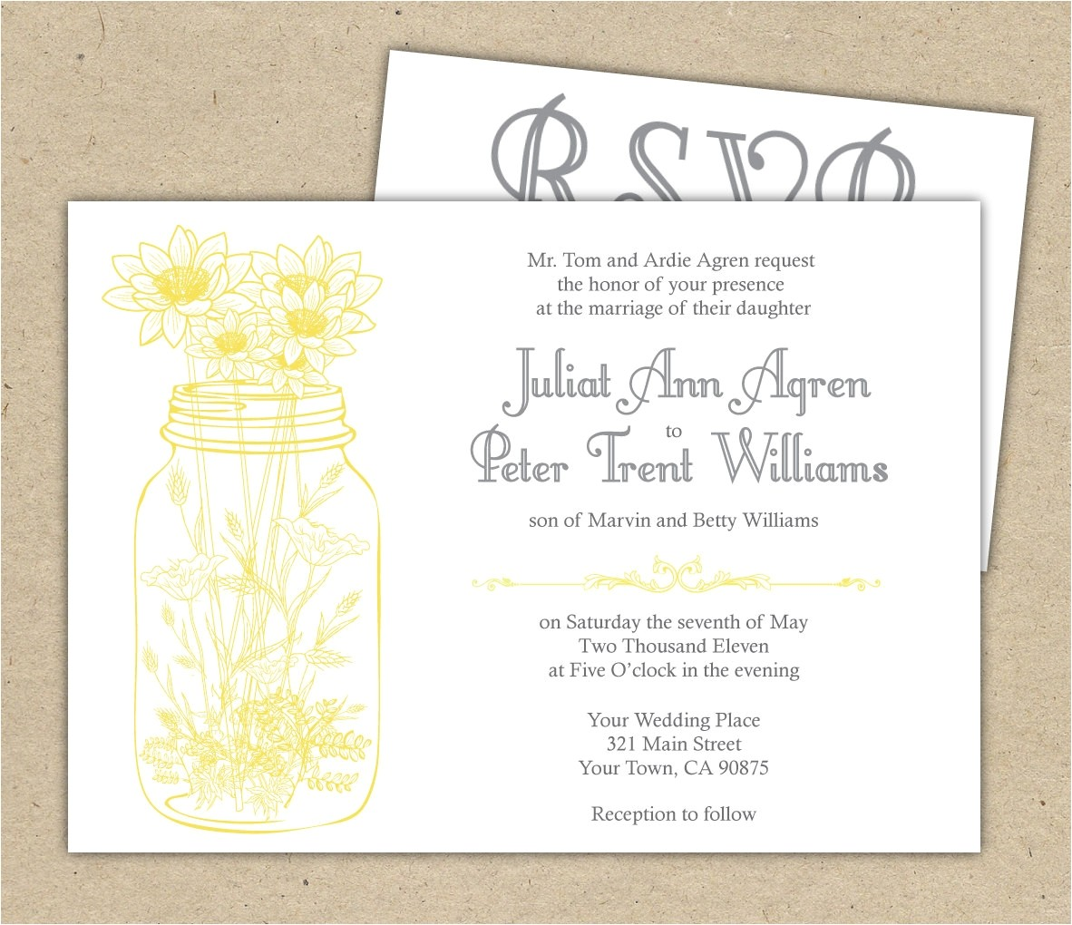 wedding invitation rsvp wording 2