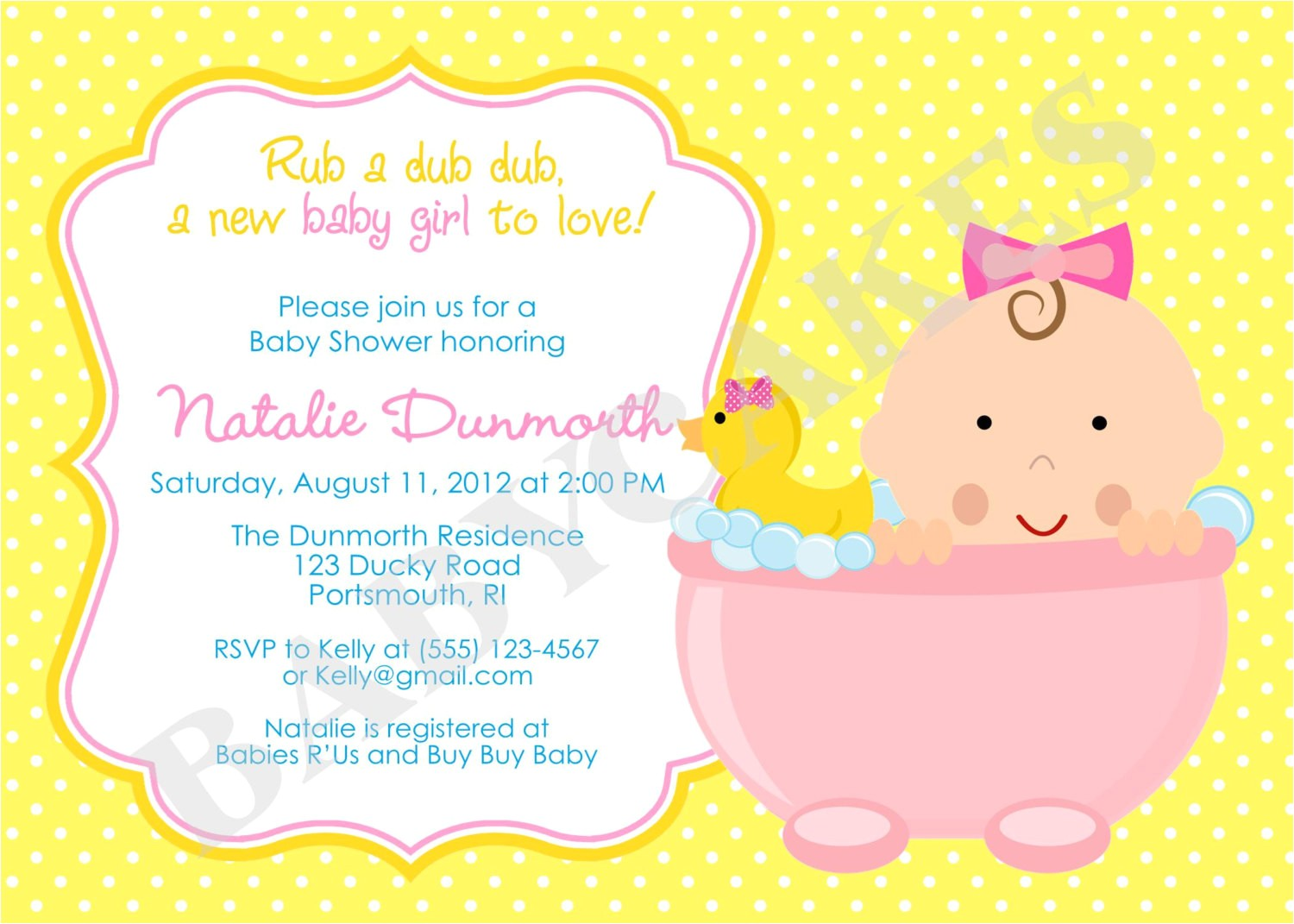 how to plan rubber ducky baby shower ideas