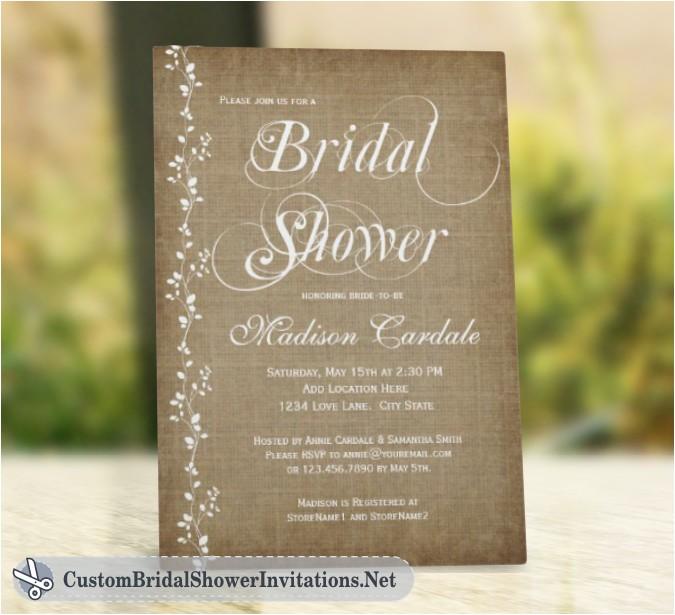 bridal shower invitations at vistaprint