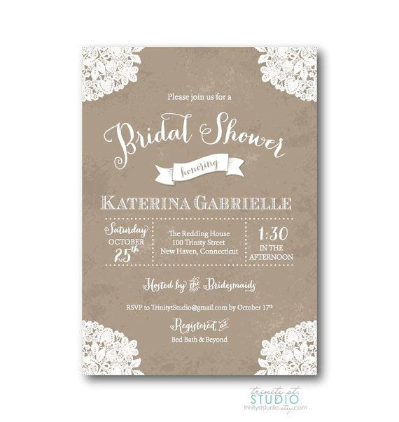 vistaprint bridal shower invitations