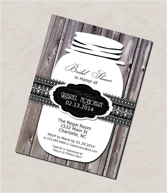 printable bridal shower invitation diy