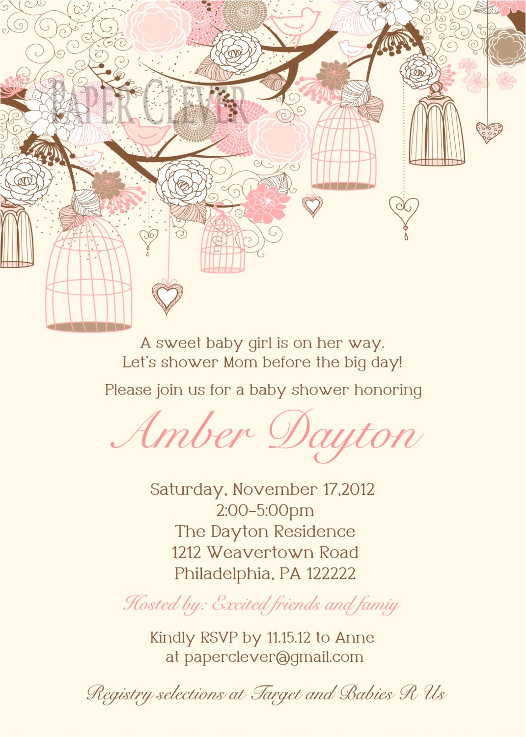 oh my gosh a baby shower invite that is beautiful i had this s