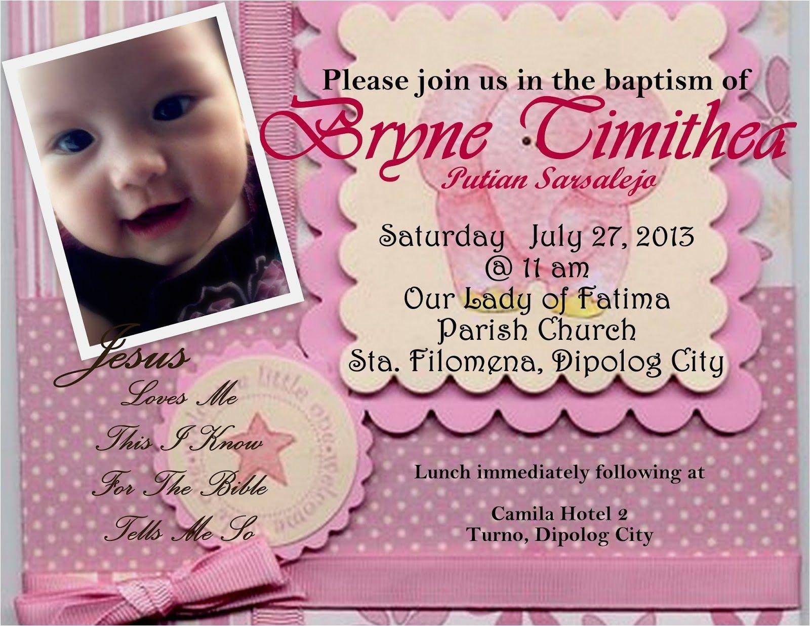 baptism invitation card maker free