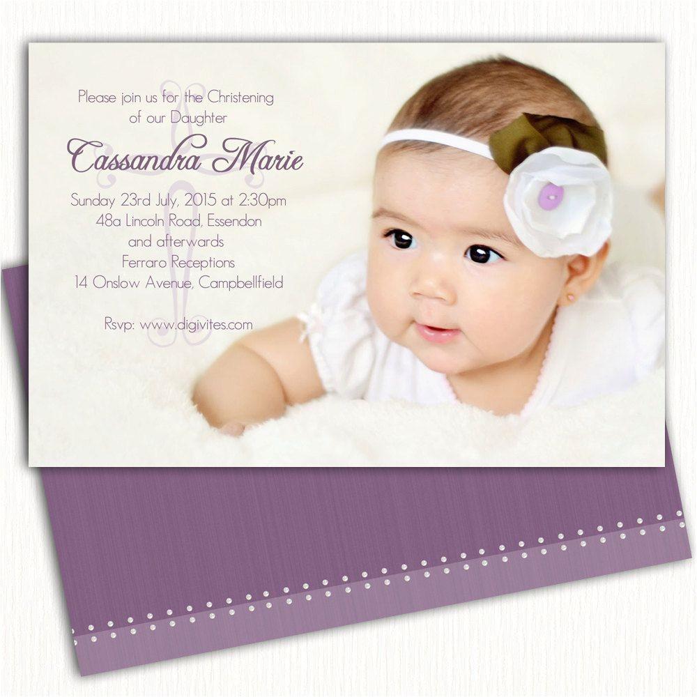 baptism invitation cards sample