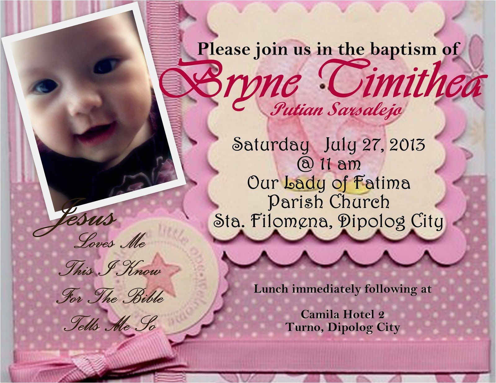 baptism invitation card maker free