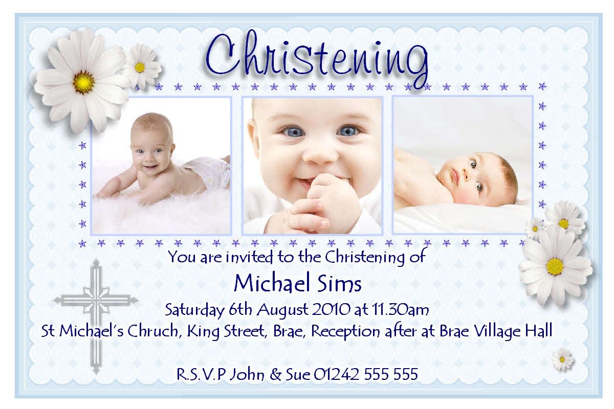 invitation for baptism sample