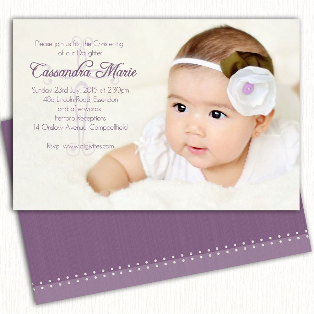 baptism invitation cards sample