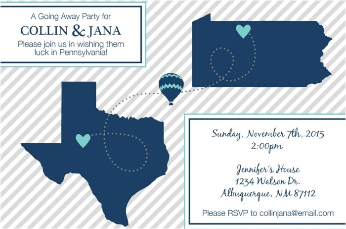 going away party invitation sample 3