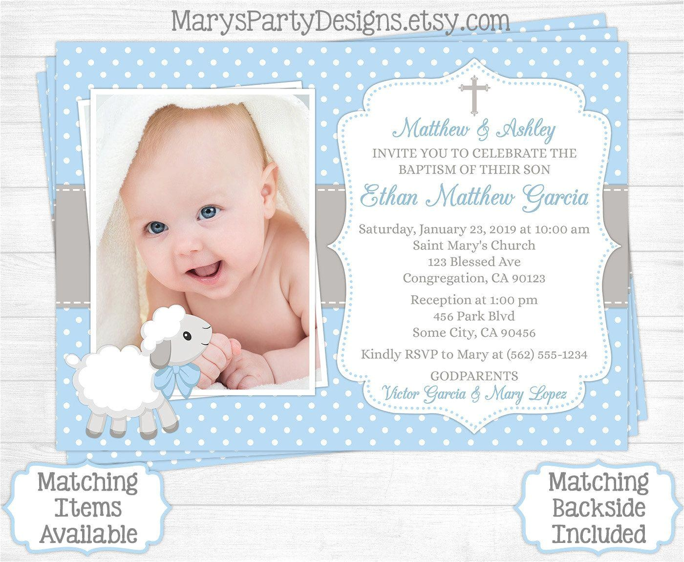 christening invitation card template free
