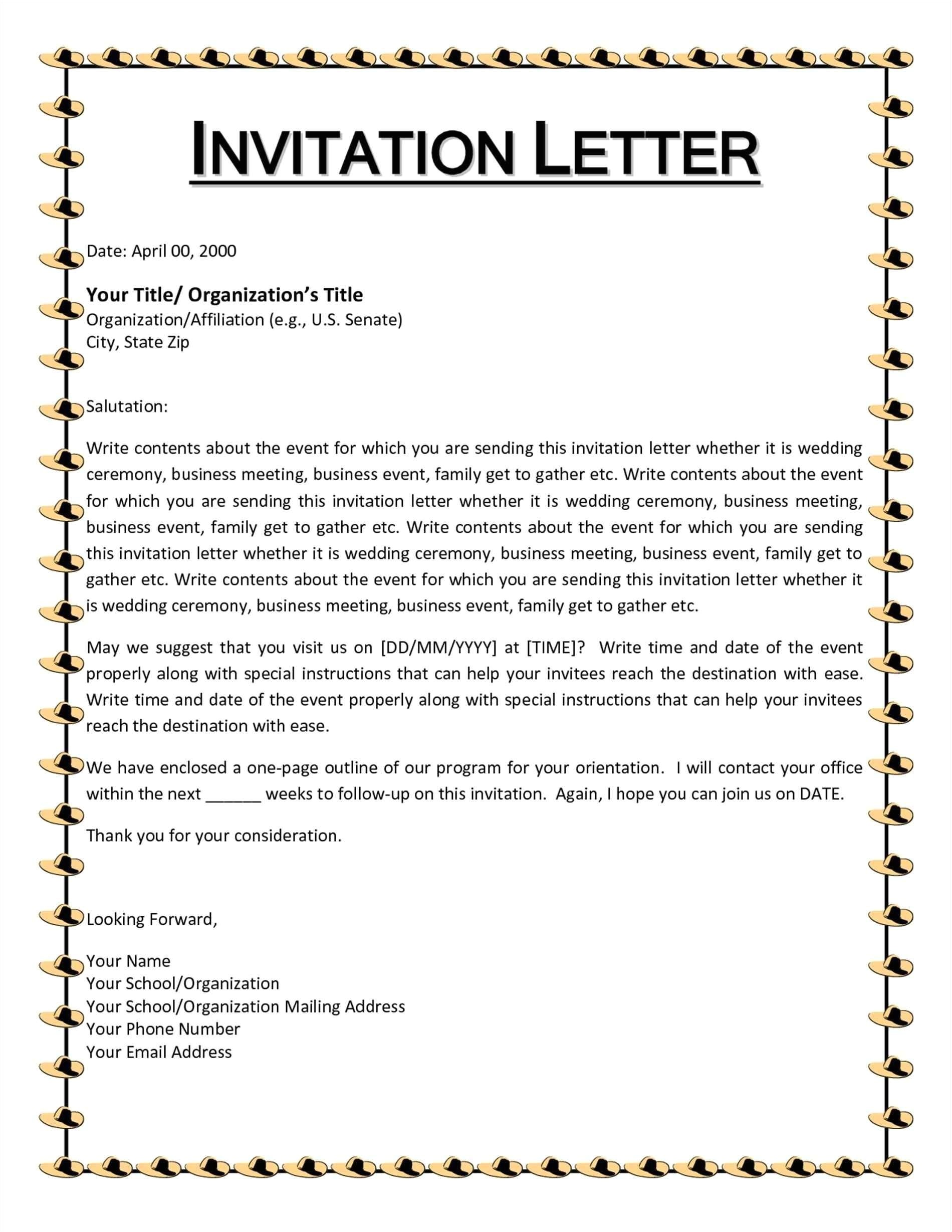 invitation letter samples for christmas party