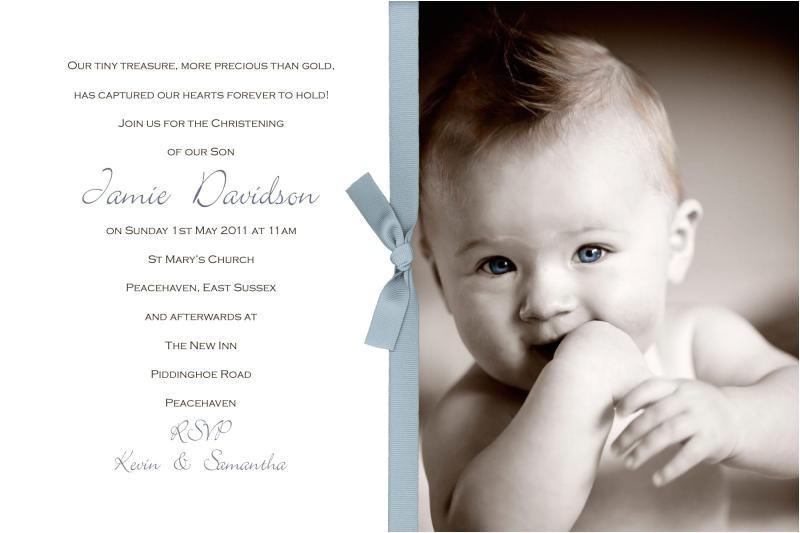 Sample Picture Of Baptismal Invitation Sample Mollie Christening Invitations