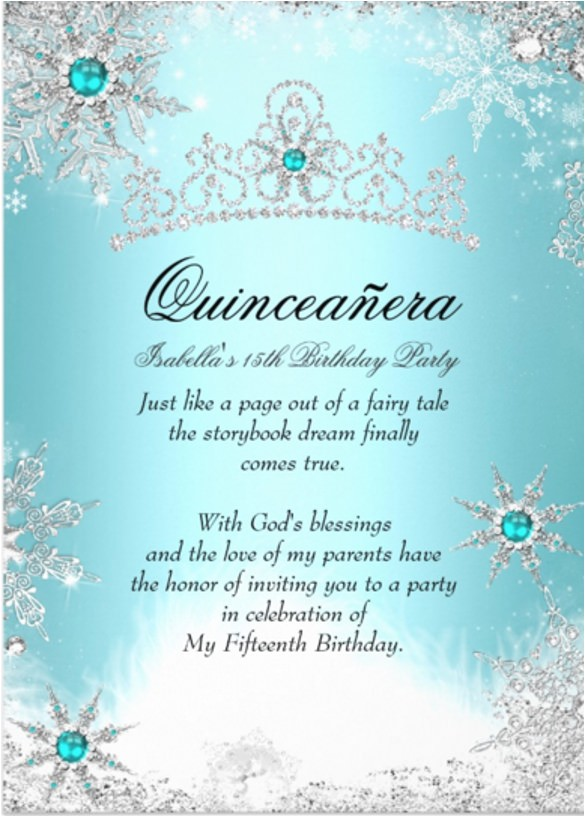 quinceanera invitations template