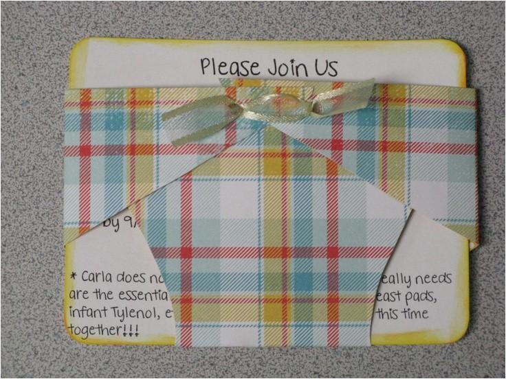 scrapbook invites