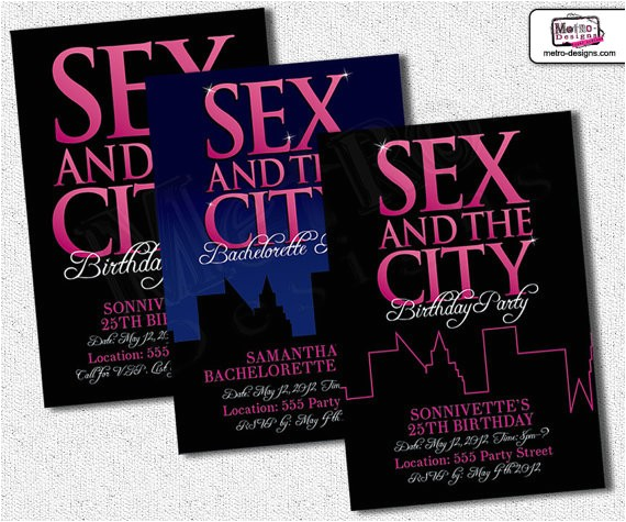 and the city invitation