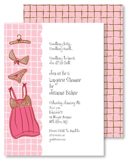 Sexy Bridal Shower Invitations Sexy Lingerie Shower Bridal Shower Invitations