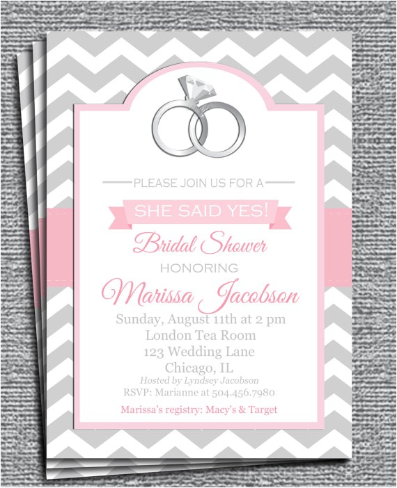invitation printable pick colors bridal shower