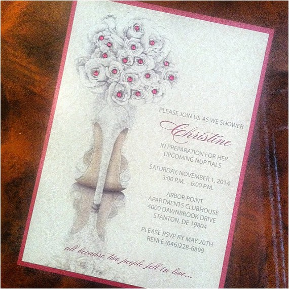 bridal shower invitation bridal shower