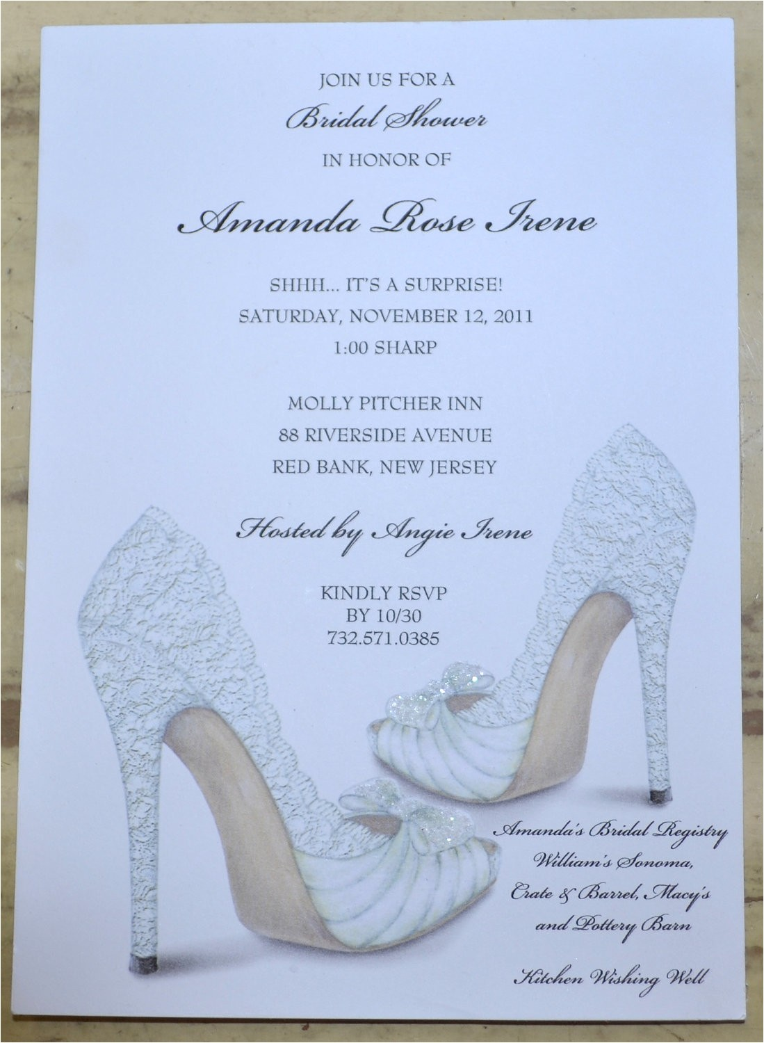 Shoe themed Bridal Shower Invitations Bridal Shower Invitations Shoe theme Bridal Shower Bridal