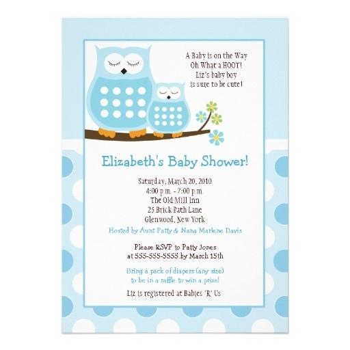 baby boy shower invite ideas