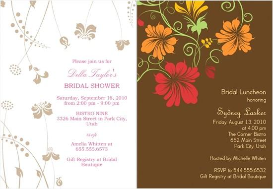 wedding shower invitations from shutterfly
