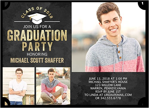 radiant party graduation invitation 5x7 flat productcode 1163096 categorycode 60434 skucode 1163097