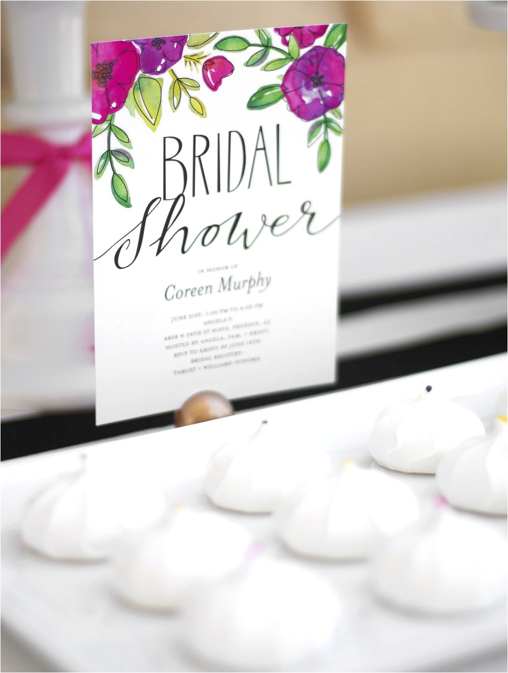 Shutterfly Invitations Bridal Shower Garden Party Bridal Shower — Kristi Murphy
