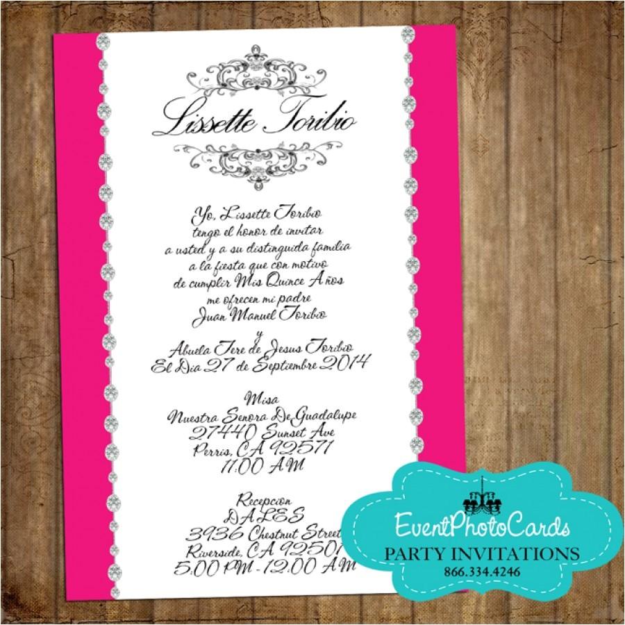 simple quinceanera invitations ideas shtml