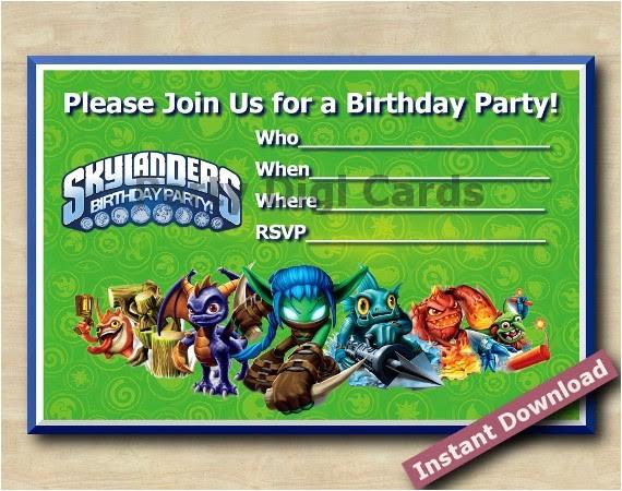 skylanders invitation 22