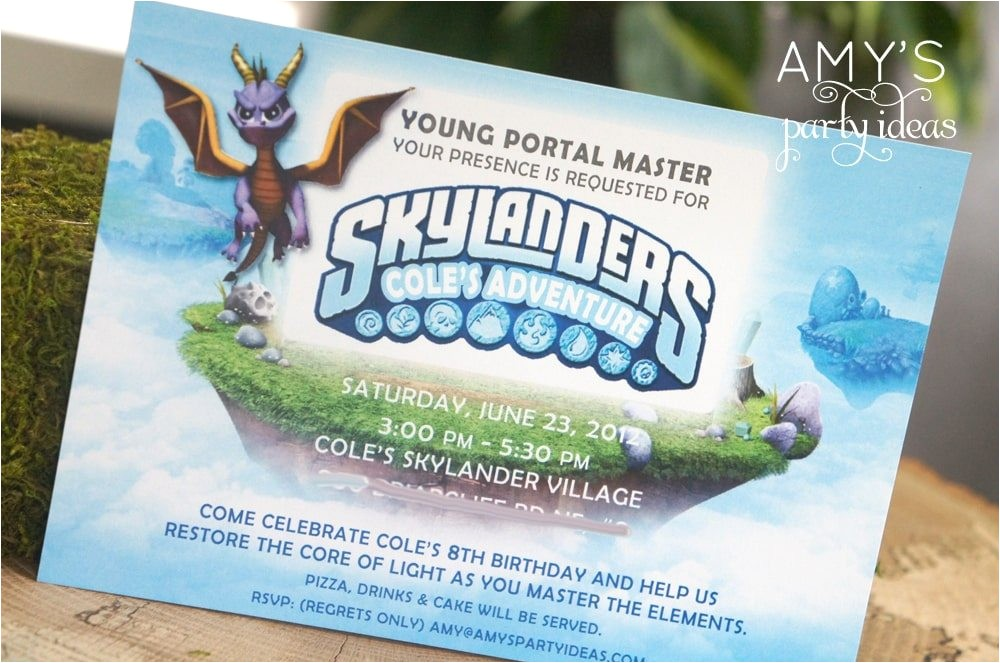 skylanders adventure party real parties ive styled