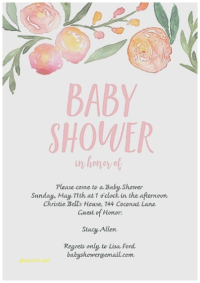 baby shower invitation best of snapfish baby shower invitations