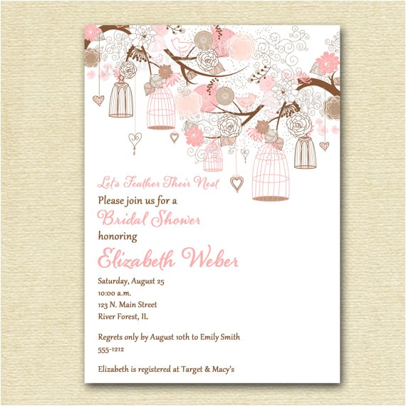 bridal shower invitations snapfish
