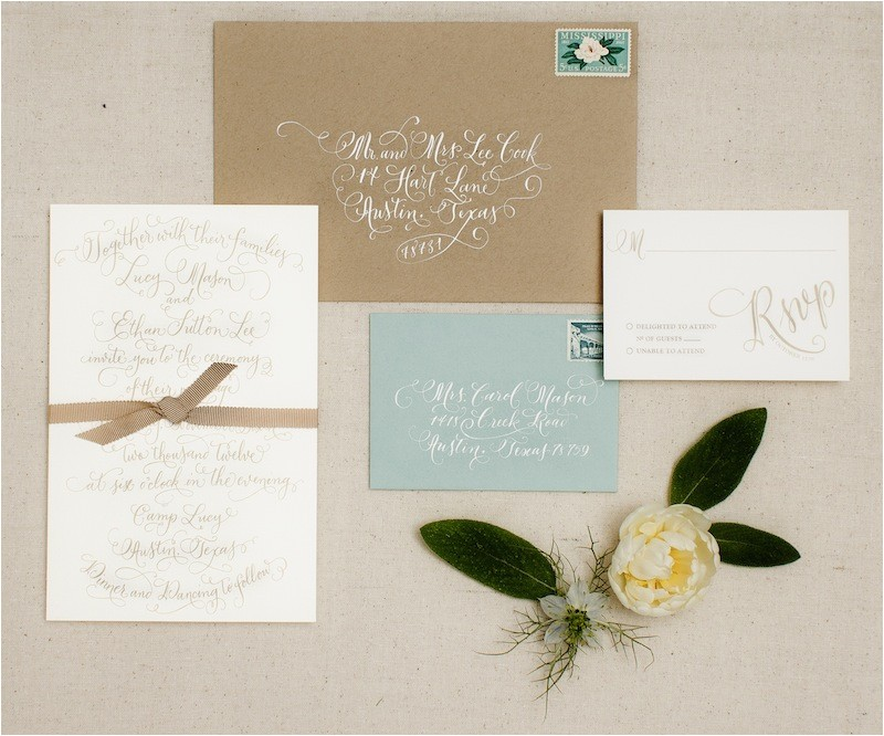 custom wedding invitations vintage and soft color combi